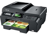 Brother MFC-J6510DW MFP 4-in-1 Tinten-Multifunktionscenter mit DIN A3 Duplexdruck (USB 2.0, WLAN) schwarz
