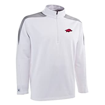 NCAA Arkansas Razorbacks Succeed Jersey Fleece Pullover Mens by Antigua