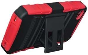 Amzer AMZ93846 Hybrid Kickstand Case (Black)