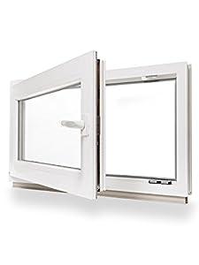 Kellerfenster kunststoff fenster dreh kipp 80 x 60 cm for Fenster 80 x 60