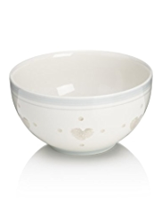 Country Heart Cereal Bowl