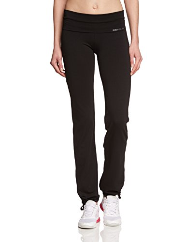 ONLY PLAY, Pantaloni da Running Donna Fold Jazz Regular Fit, colore Nero (Schwarz), taglia 42 / M