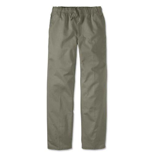 Vintage Twill Drawstring Trousers, Sage, 44