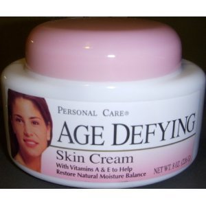 Personal Care Age Defying Skin Cream with Vitamins A & E 8oz