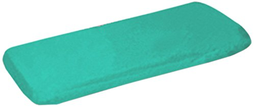 Ababy Organic Fitted Bassinet Sheet, Jade front-367554