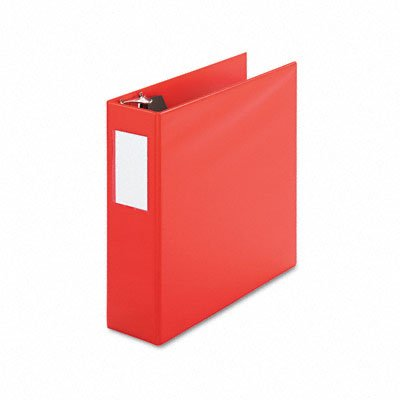 D-ring binder with label holder, 4 capacity, red - Buy D-ring binder with label holder, 4 capacity, red - Purchase D-ring binder with label holder, 4 capacity, red (Universal, Office Products, Categories, Office & School Supplies, Binders & Binding Systems, Binders, Ring Binders, D-Ring Binders)