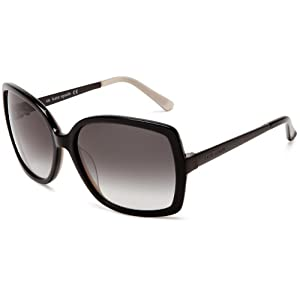 Kate Spade Women's Darryl Sunglasses,Black Champagne Frame/Grey Gradient Lens,One size