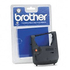 Black Correctable Ribbon For