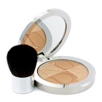 Christian Dior Skin Nude Tan Glow Enhancing Powder with Kabuki Brush, No. 003 Zenith, 0.35 Ounce