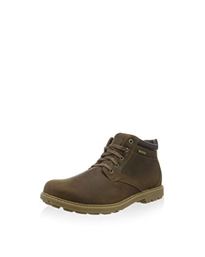 Rockport Stivaletto Stringato Rgd Buc Wp  [Marrone]