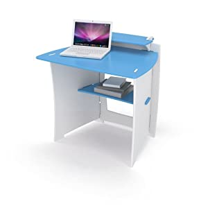 Amazon Com Legare 34 Inch Kids Desk Yellow And White