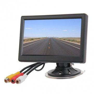 Souked 5 pouces de sécurité pour véhicules Ditigal TFT LCD arrière arrière View Monitor