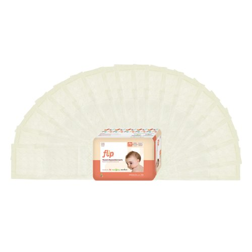 flip Disposable Diaper Inserts - 18 ct