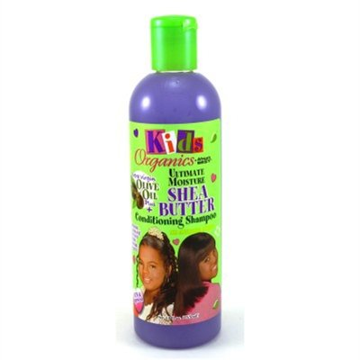 Africas Best Kids Org. Shampoo Shea Butter 12oz (2 Pack)