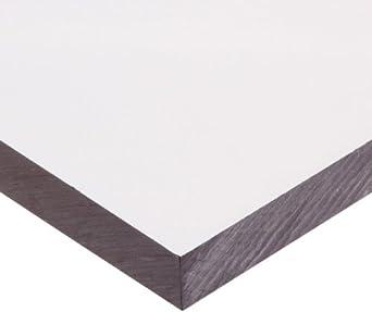Polycarbonate (PC) Sheet, Transparent Clear, Standard Tolerance, ASTM D3935