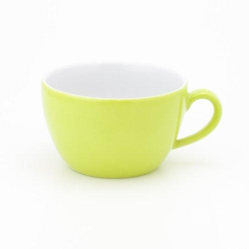 Kahla - Porcelaine pour les Sens 204708A72456C Pronto Colore Tasse à Cappuccino Citron Vert 9,5 cm