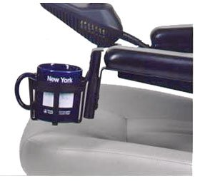 Wheelchair Cup Holder for Power-Chair & Scooter Armrests