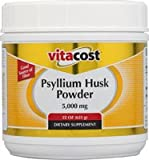 Vitacost Psyllium Husk Powder -- 5,000 mg per serving - 22 oz