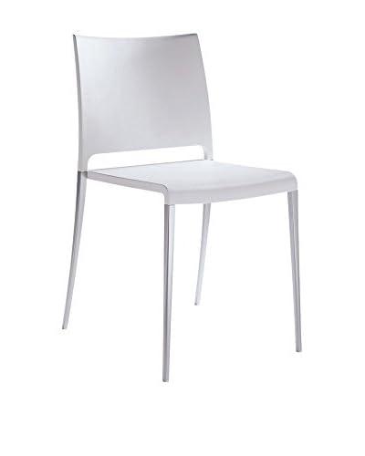 PEDRALI Chair Set van 2 Mya 700 wit