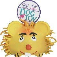 Vo-Toys Latex Hairy Mouse Jumbo Dog Toy