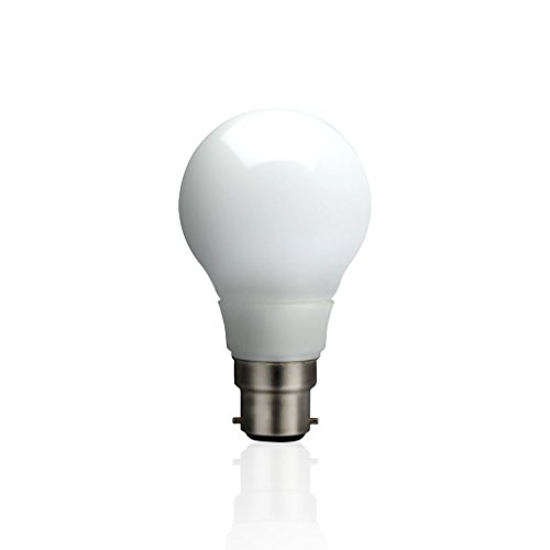 5W E27 Round LED Glass Bulb (White)