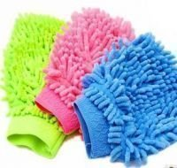 Vheelocityin Set of 3 Cleaning Microfiber Gloves for all types of cleaning