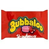 Bubbaloo Strawberry Bubble Gum (Pack of 60)