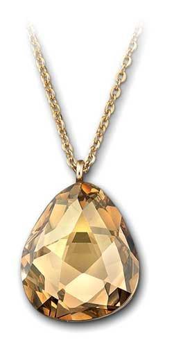 Swarovski Helios Desert Glow Crystal Pendant