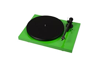 Pro-Ject Debut Carbon (Green) Belt-drive Turntable with Cartridge by Pro-Ject