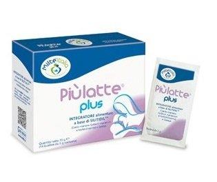 PIU' LATTE PLUS - MILTE - PIU LATTE - più latte - INTEGRATORE ALLATTAMENTO