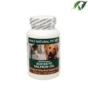 Only Natural Pet Wild Alaskan Salmon Oil Gelcaps