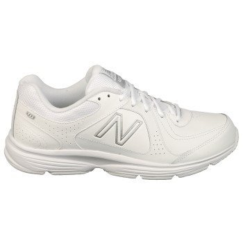 New Balance Men'S Mw411 Health Walking Shoe,White,14 4E Us