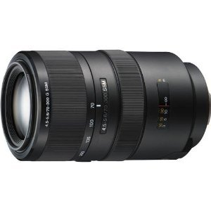 Sony SAL70300G 70-300mm f/4.5-5.6 SSM ED G-Series Compact Super Telephoto Zoom Lens