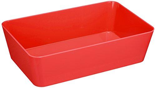 wenko-20291100-candy-bac-de-rangement-pvc-rouge-22-x-14-x-7-cm