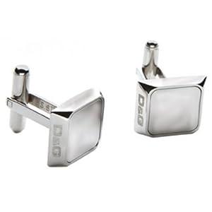 Dolce & Gabbana DJ1000 - BLADE - Gemelos de hombre de acero inoxidable