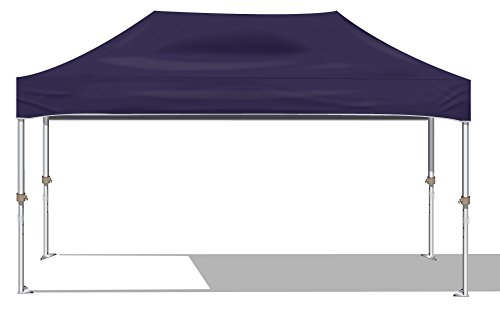 Kd Kanopy Xtf200P Xtf Aluminum Frame Indoor/Outdoor Portable Canopy, 10 By 20-Feet, Purple