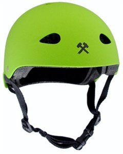 Buy Low Price S-One Kid Helmet – Bright Green Matte – Large (A2BGM-LG)