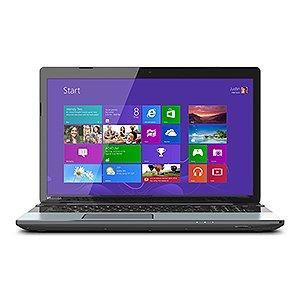 "Toshiba S55 laptop, 15.6"" HD Display, i7-4700MQ, 2.4GHz, 12GB RAM, 1TB HDD, Harmon Kardon® stereo speakers (Ice Silver)"