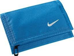 nike portafoglio blu