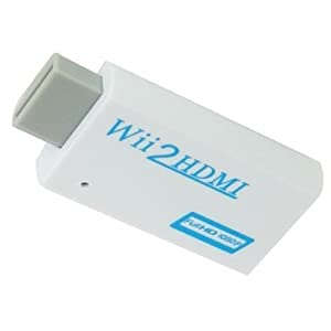 Wii to HDMI 720P / 1080P HD Output Upscaling Converter - Supports All Wii Display Modes, HDMI Upscale to 720p or 1080p Output