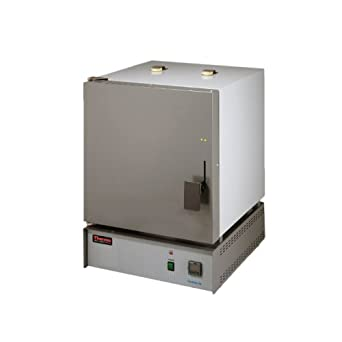 Thermo Scientific ELED F48010 Thermolyne Benchtop Muffle Furnace with (A1) Digital Single Setpoint Temperature Controller, 240V, 5.8 Liter Capacity, 100 to 1200 Degree C