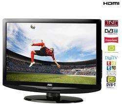 Téléviseur LCD L19WB81  Résolution standard, 18,5 pouces (47 cm) 16/9, TNT, HDMI