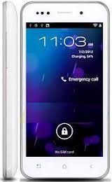 Zopo Zp500+ Android 4.0 ,4.0 Inch Mtk6577 Dual Core White