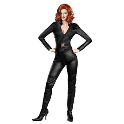 Avengers Deluxe Black Widow Adult Costume L