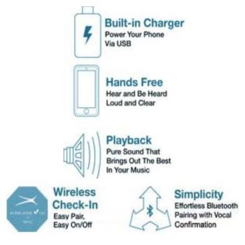 Altec Lansing IMW555-BLK Inmotion Portable Speaker with Wireless Bluetooth