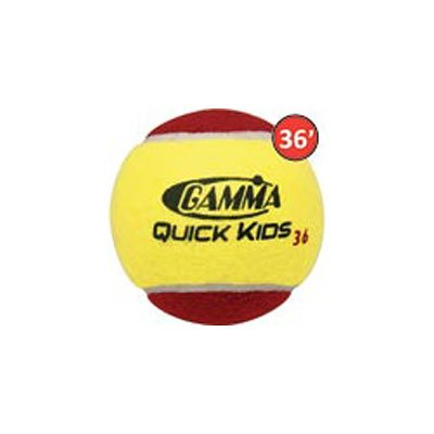 Gamma Quick Kids 36 Low Compression Ball - 3Pack