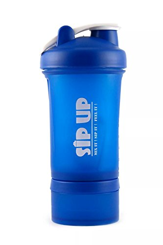 Sip Up Stack Blue Shaker Bottle 500 ML