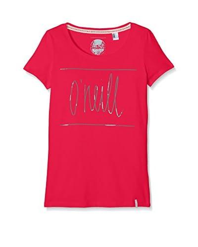 O'Neill Camiseta Manga Corta Lg Script S/Slv Rosa