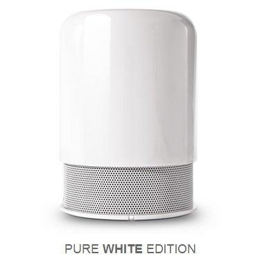 HiddenRadio - Haut-parleur Bluetooth - Blanc