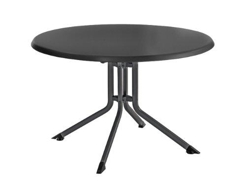 Kettler-0307016-7000-Klapptisch-Aluminium-Kettalux-rund-100-cm--eisengrau